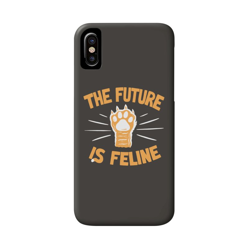 THE T/ME /S MEOW Accessories Phone Case by DYLAN'S SHOP