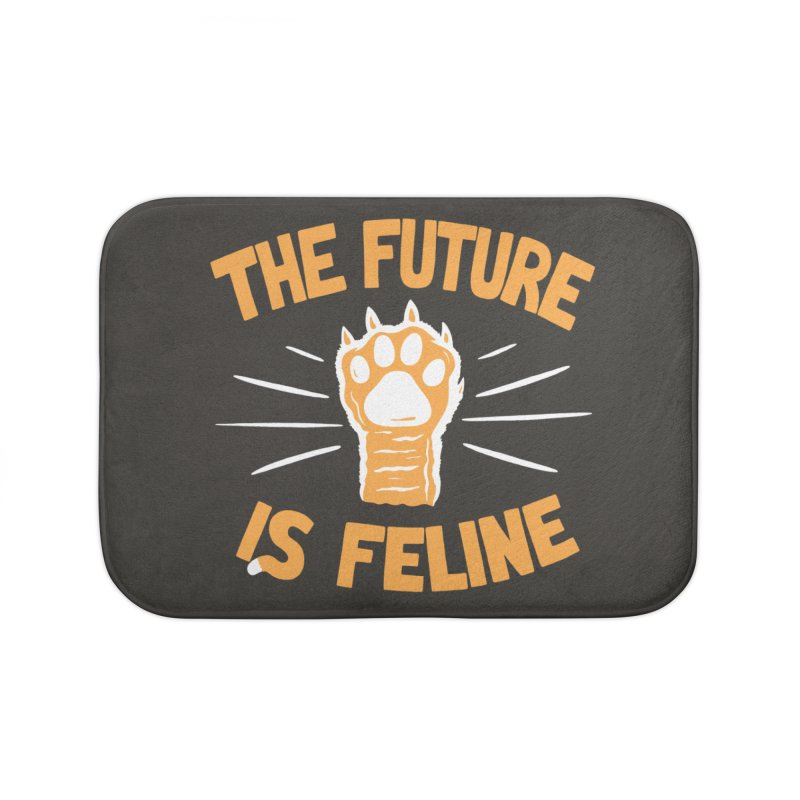 THE T/ME /S MEOW Home Bath Mat by DYLAN'S SHOP