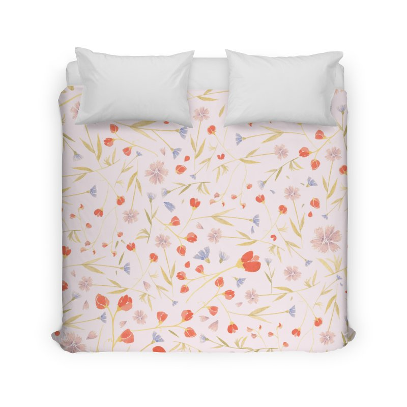 W/LDFLOWERS Home Duvet by DYLAN'S SHOP