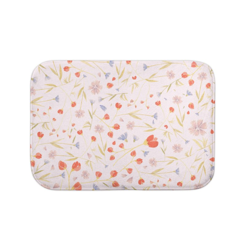 W/LDFLOWERS Home Bath Mat by DYLAN'S SHOP