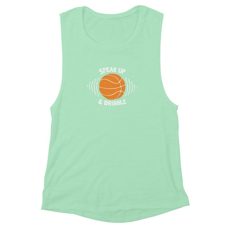 DR\BBLE Women's Muscle Tank by DYLAN'S SHOP