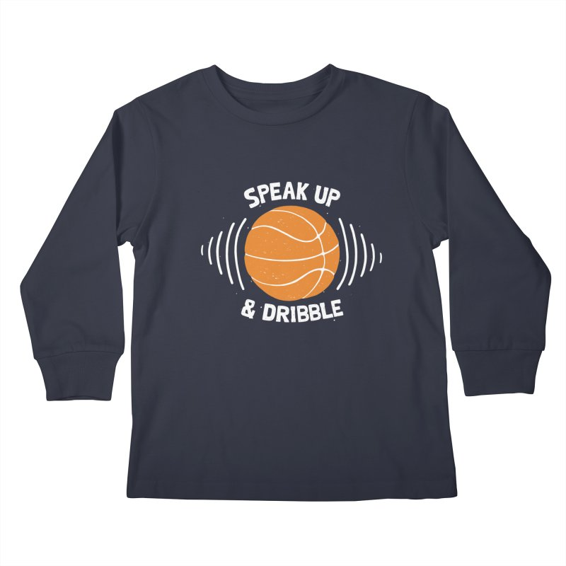 DR\BBLE Kids Longsleeve T-Shirt by DYLAN'S SHOP