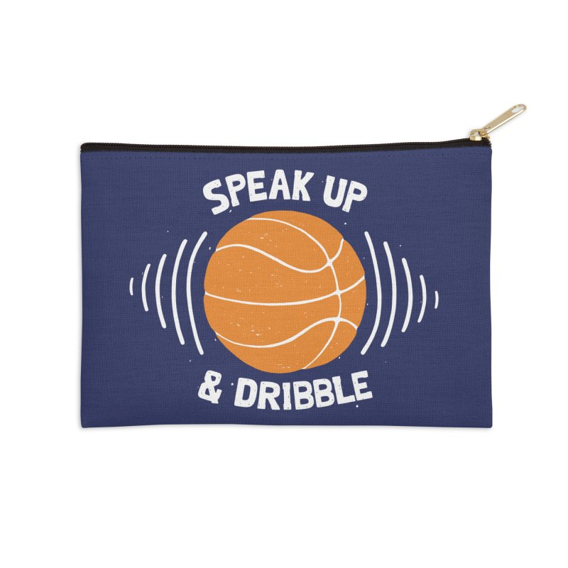 DR\BBLE Accessories Zip Pouch by DYLAN'S SHOP
