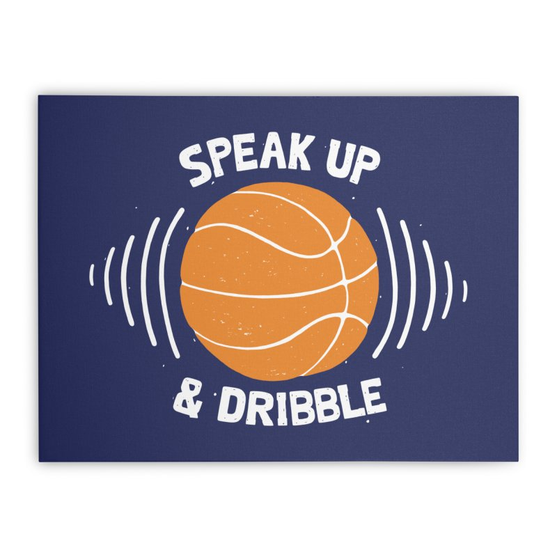 DR\BBLE Home Stretched Canvas by DYLAN'S SHOP