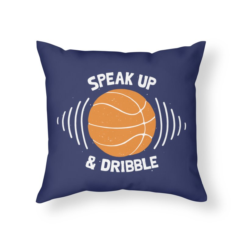 DR\BBLE Home Throw Pillow by DYLAN'S SHOP