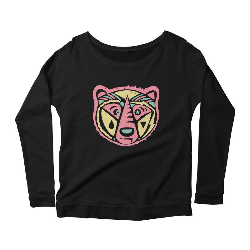 GR/ZZLY Women's Scoop Neck Longsleeve T-Shirt by DYLAN'S SHOP