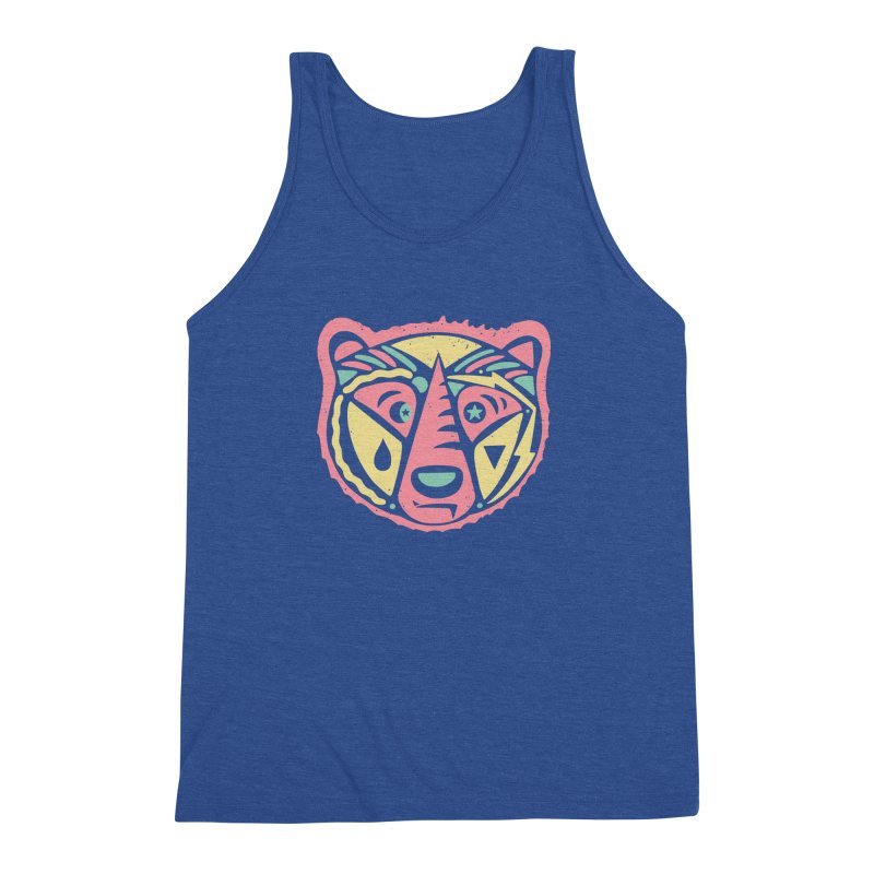 GR/ZZLY Men's Triblend Tank by DYLAN'S SHOP