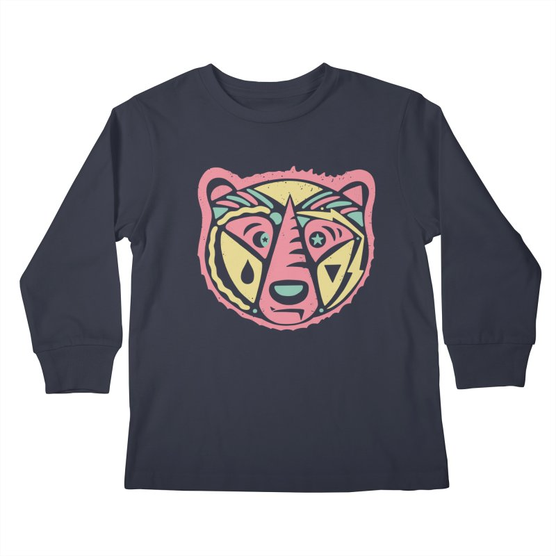 GR/ZZLY Kids Longsleeve T-Shirt by DYLAN'S SHOP