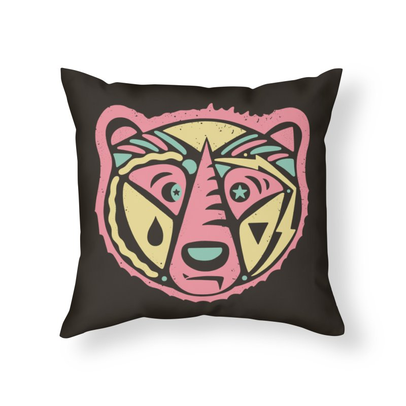 GR/ZZLY Home Throw Pillow by DYLAN'S SHOP