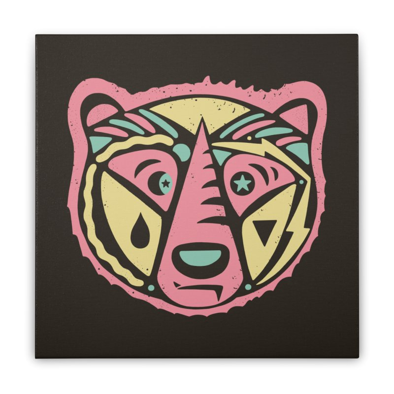 GR/ZZLY Home Stretched Canvas by DYLAN'S SHOP