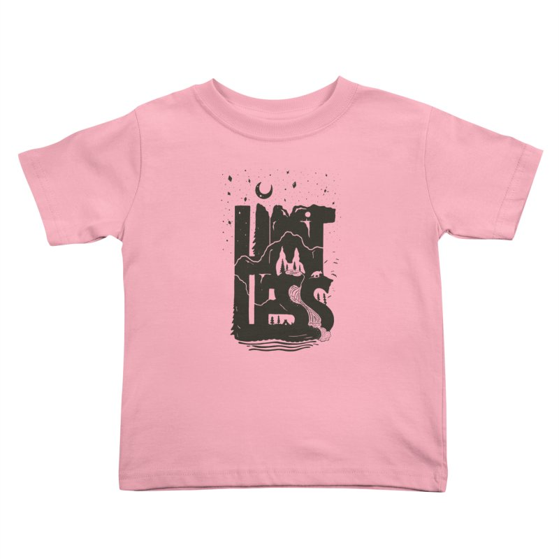 L/M/TLESS Kids Toddler T-Shirt by DYLAN'S SHOP