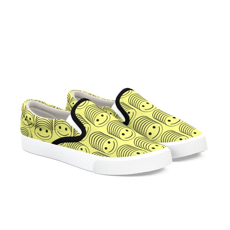 SMIIIIIIILE Men's Slip-On Shoes by DYLAN'S SHOP