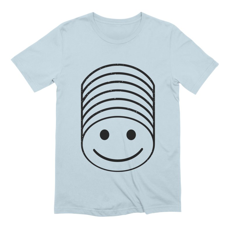 SMIIIIIIILE Men's Extra Soft T-Shirt by DYLAN'S SHOP