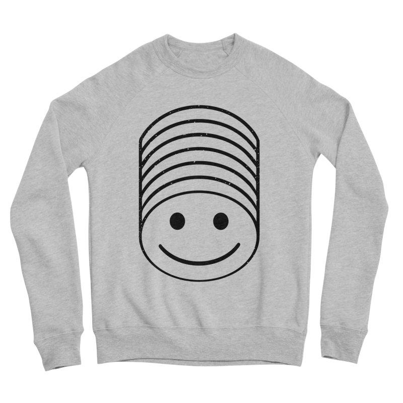 SMIIIIIIILE Men's Sponge Fleece Sweatshirt by DYLAN'S SHOP
