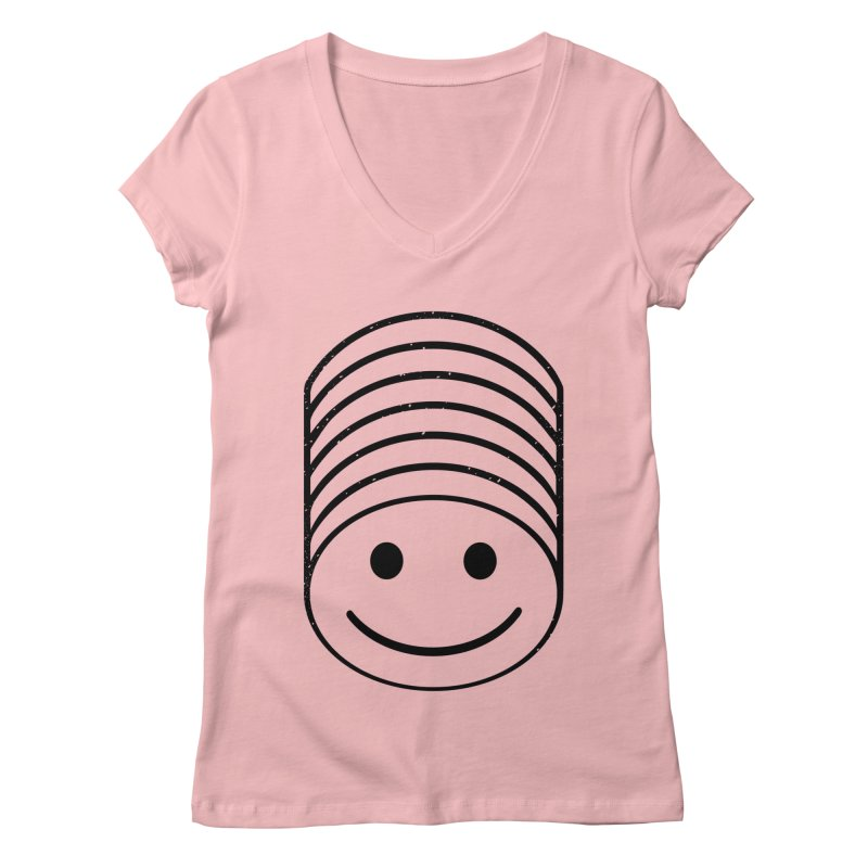 SMIIIIIIILE Women's Regular V-Neck by DYLAN'S SHOP