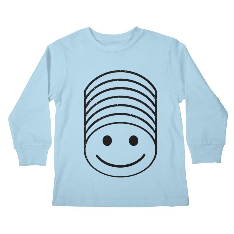 SMIIIIIIILE Kids Longsleeve T-Shirt by DYLAN'S SHOP