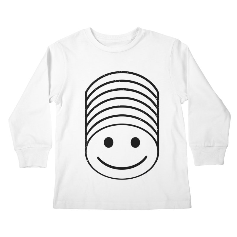 SMIIIIIIILE Kids Longsleeve T-Shirt by DYLAN'S SHOP