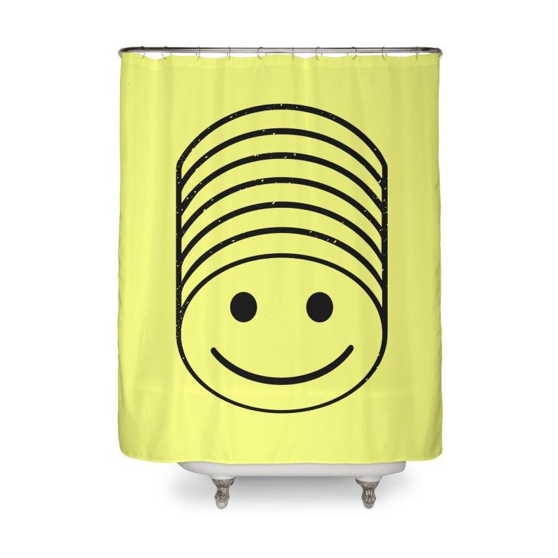 SMIIIIIIILE Home Shower Curtain by DYLAN'S SHOP