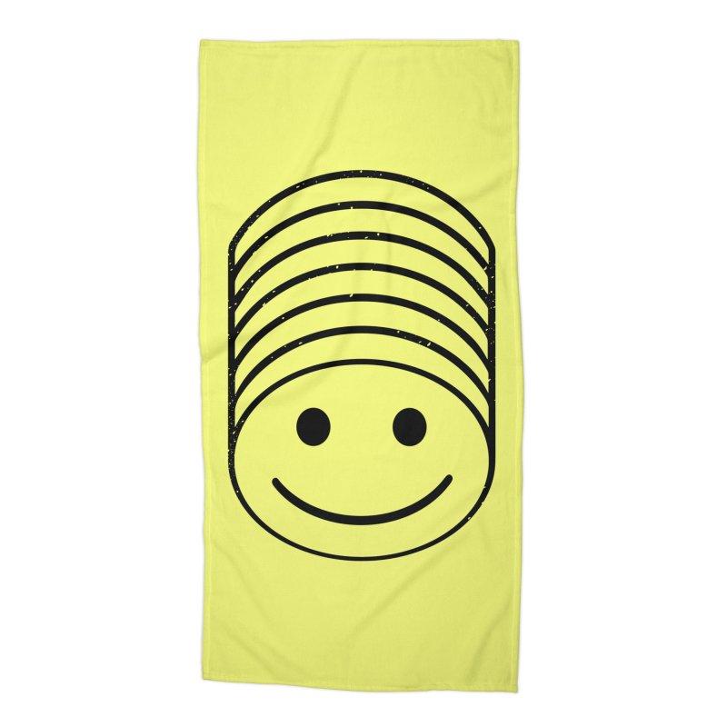 SMIIIIIIILE Accessories Beach Towel by DYLAN'S SHOP