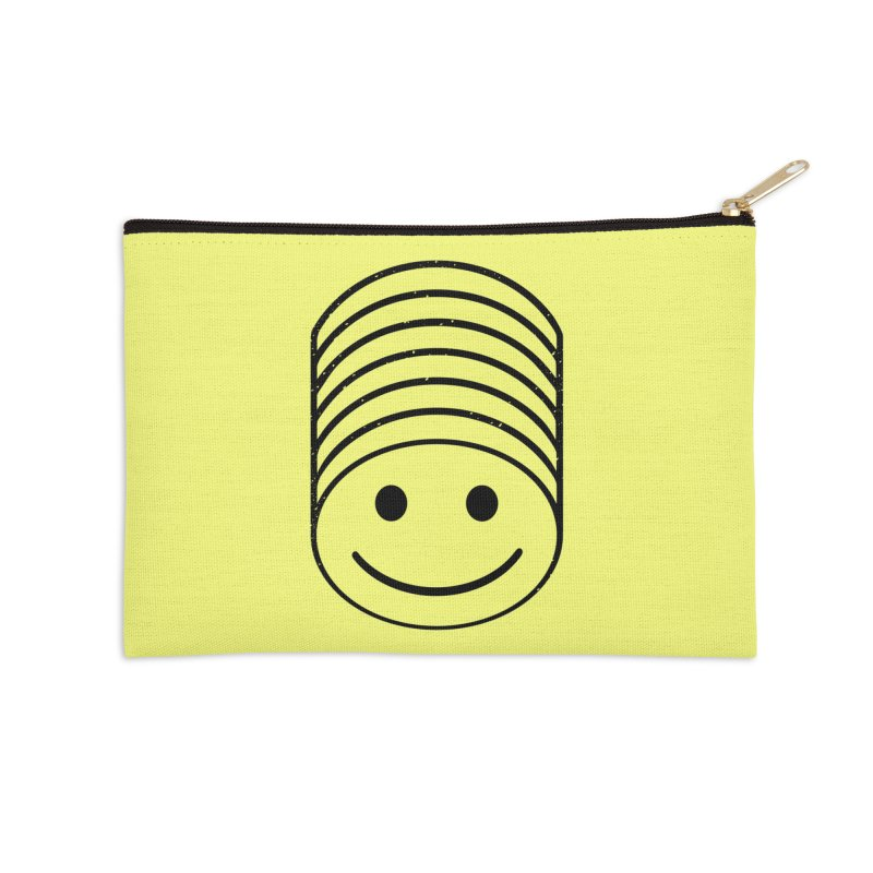 SMIIIIIIILE Accessories Zip Pouch by DYLAN'S SHOP