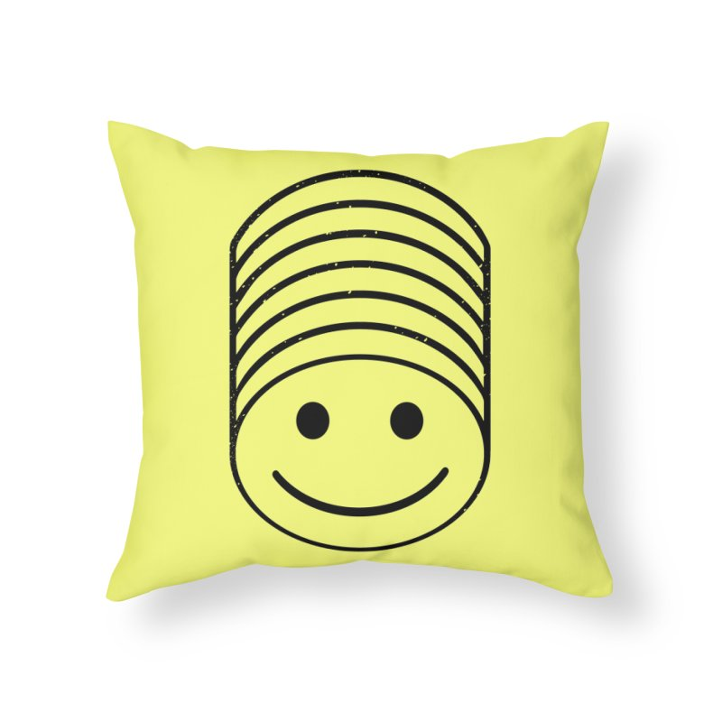SMIIIIIIILE Home Throw Pillow by DYLAN'S SHOP