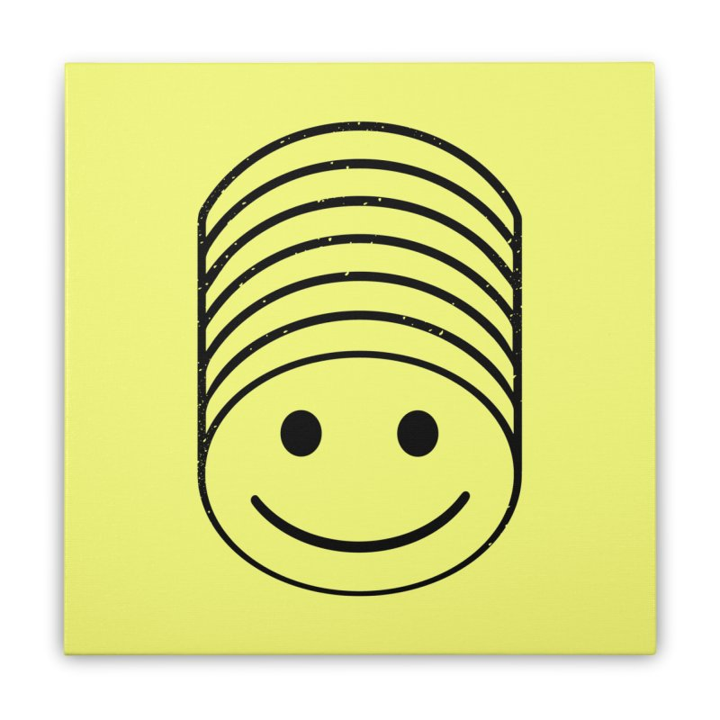 SMIIIIIIILE Home Stretched Canvas by DYLAN'S SHOP