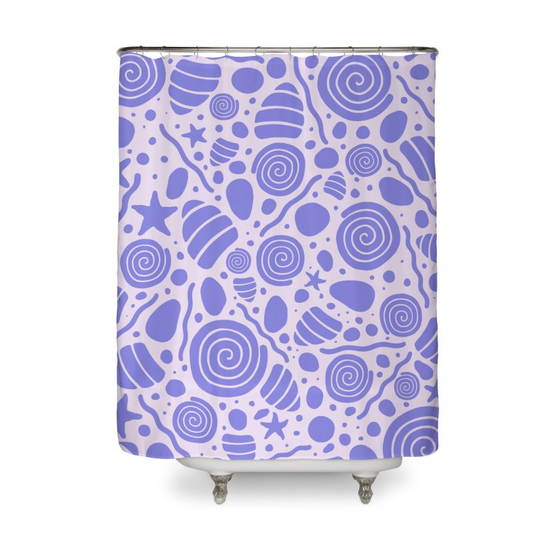 PER/W/NKLE Home Shower Curtain by DYLAN'S SHOP