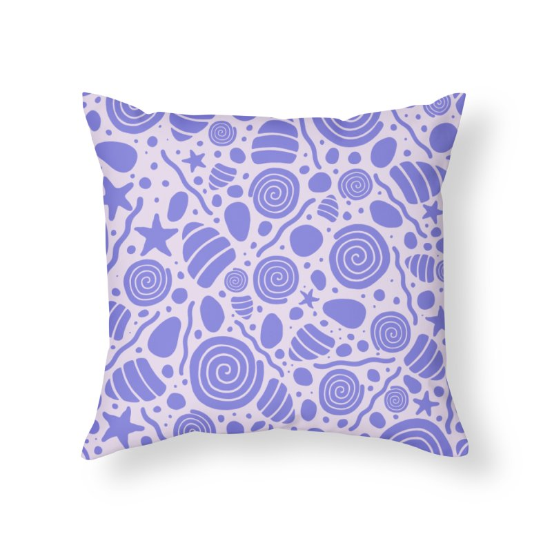 PER/W/NKLE Home Throw Pillow by DYLAN'S SHOP