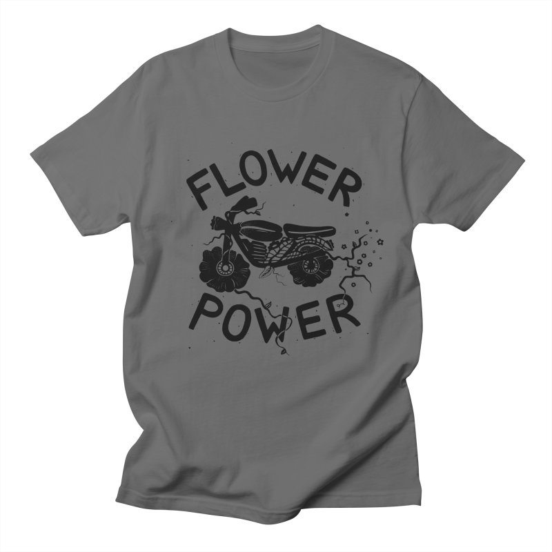 Floral Fuel Men's T-shirt by DYLAN'S SHOP