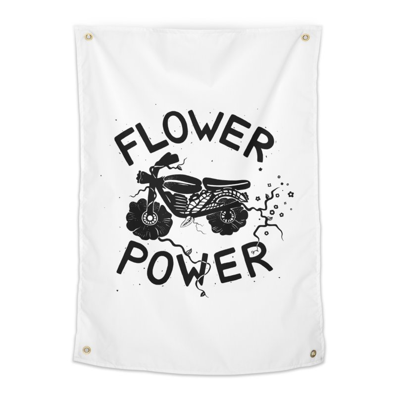 Floral Fuel in Tapestry by DYLAN'S SHOP