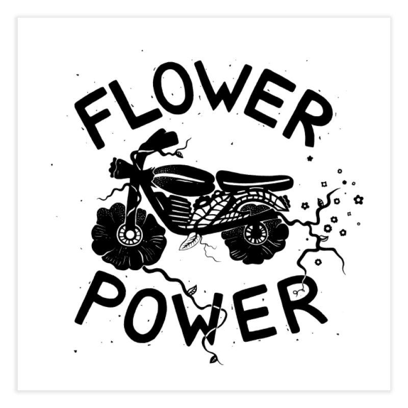 Floral Fuel Home Fine Art Print by DYLAN'S SHOP