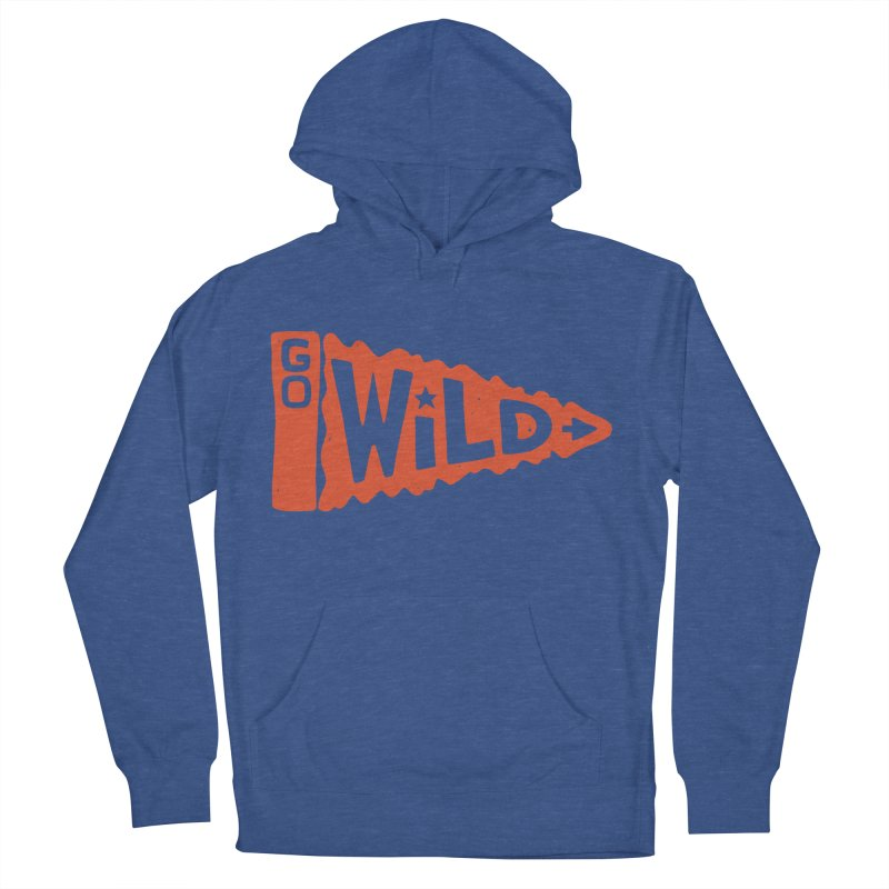 GO W/LD Men's Pullover Hoody by DYLAN'S SHOP