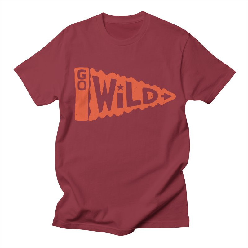 GO W/LD Men's T-Shirt by DYLAN'S SHOP