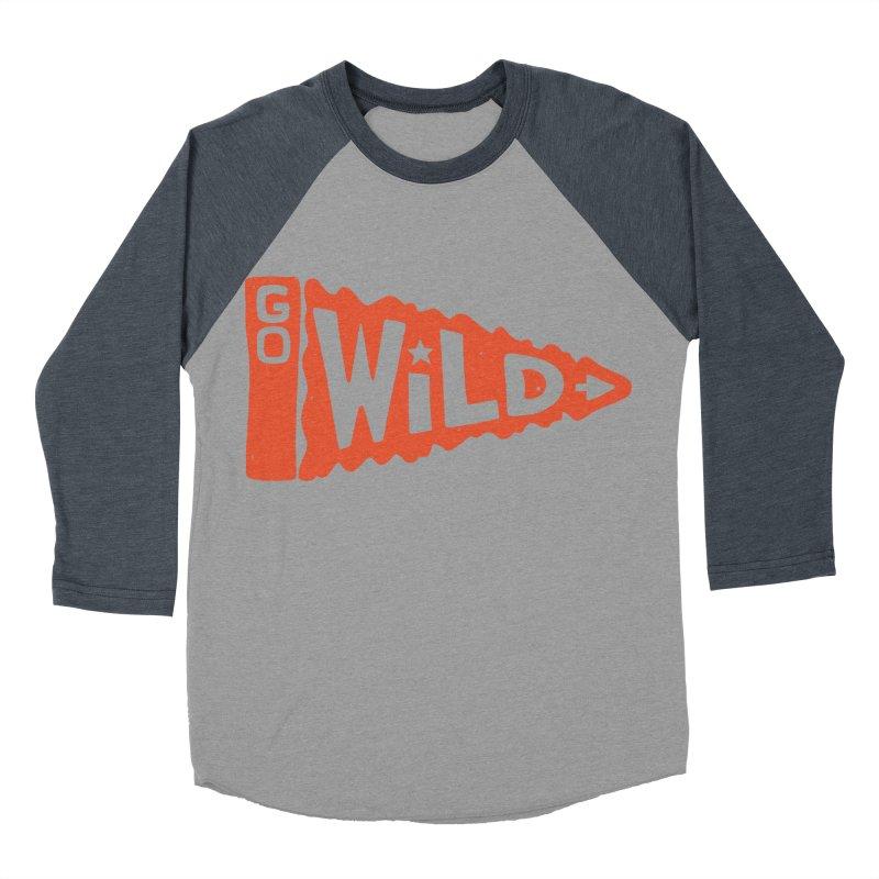 GO W/LD Women's Baseball Triblend T-Shirt by DYLAN'S SHOP