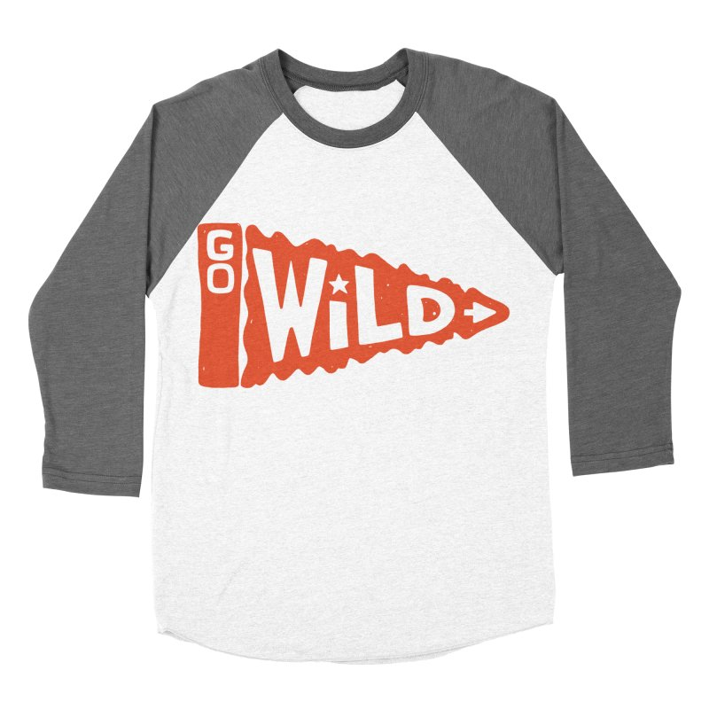 GO W/LD Men's Baseball Triblend T-Shirt by DYLAN'S SHOP
