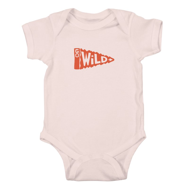 GO W/LD Kids Baby Bodysuit by DYLAN'S SHOP