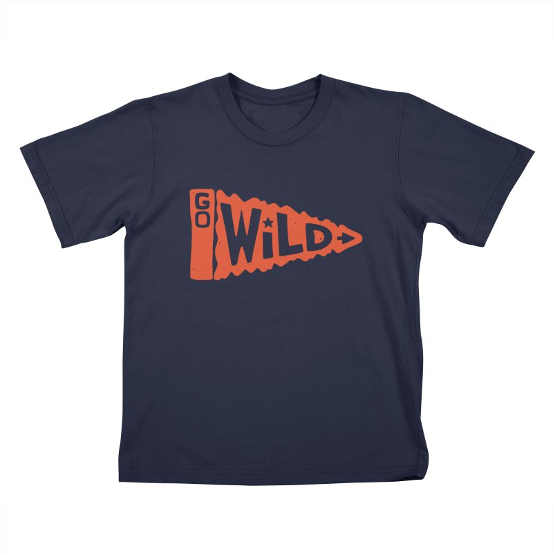 GO W/LD Kids T-Shirt by DYLAN'S SHOP