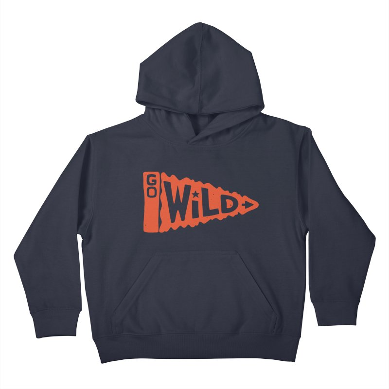 GO W/LD Kids Pullover Hoody by DYLAN'S SHOP
