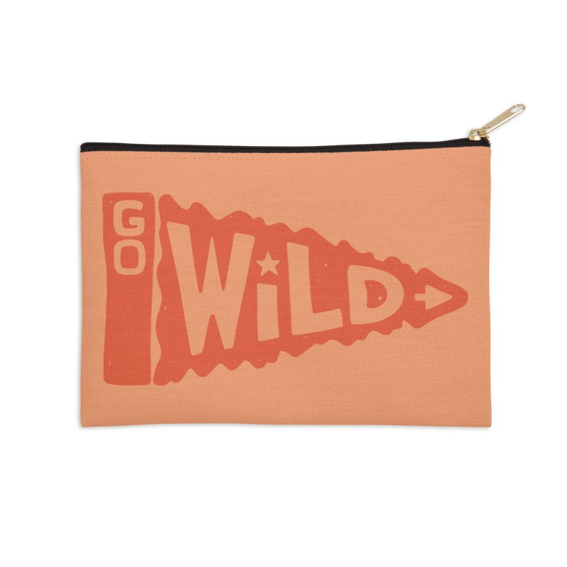 GO W/LD Accessories Zip Pouch by DYLAN'S SHOP