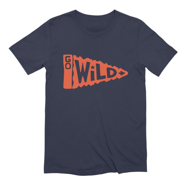 GO W/LD Men's Extra Soft T-Shirt by DYLAN'S SHOP