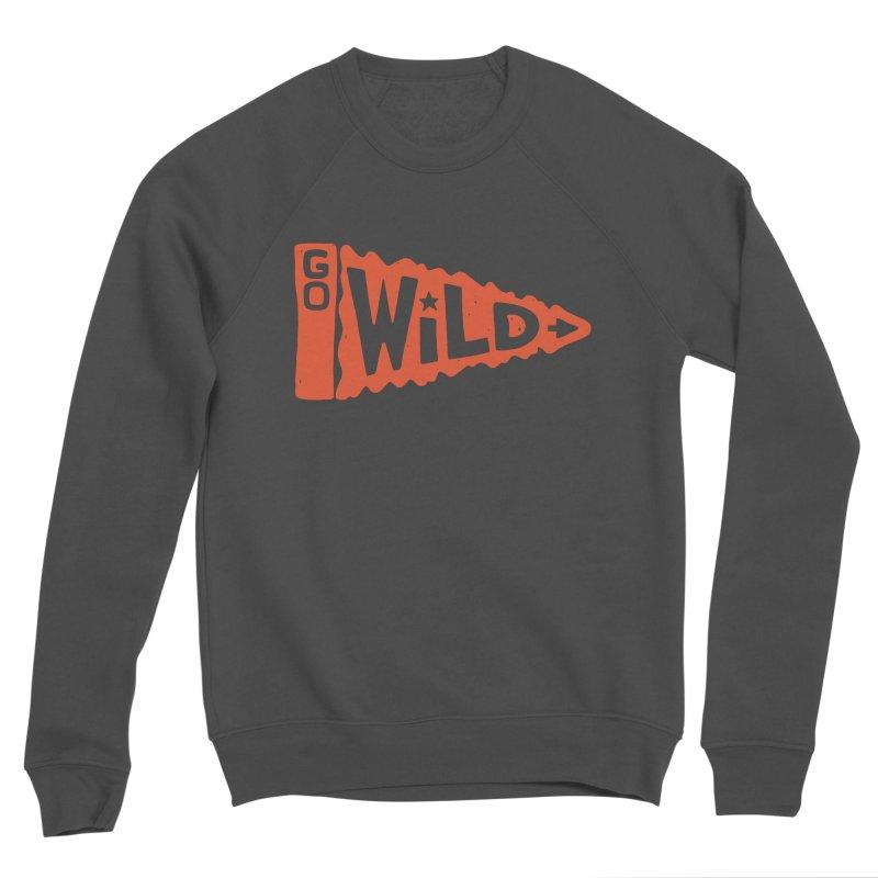 GO W/LD Men's Sponge Fleece Sweatshirt by DYLAN'S SHOP