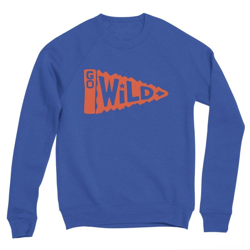 GO W/LD Women's Sponge Fleece Sweatshirt by DYLAN'S SHOP