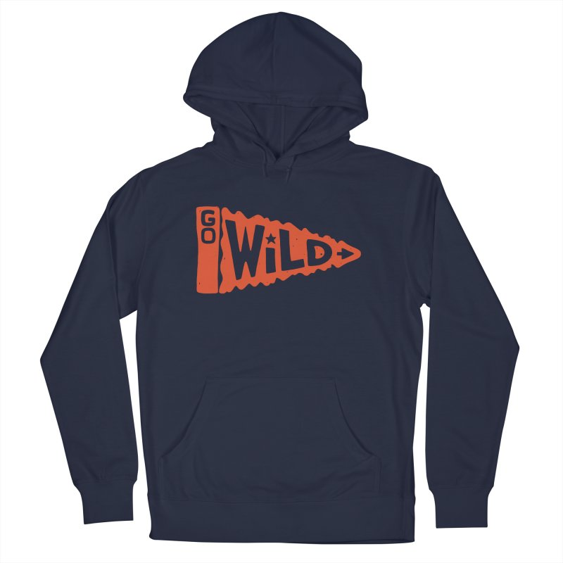 GO W/LD Women's French Terry Pullover Hoody by DYLAN'S SHOP