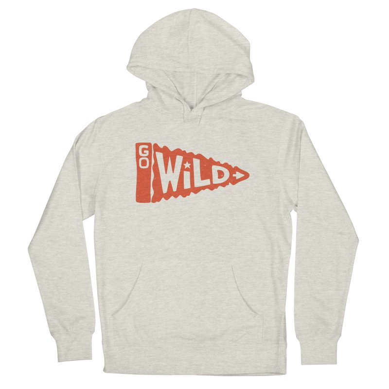 GO W/LD Men's French Terry Pullover Hoody by DYLAN'S SHOP