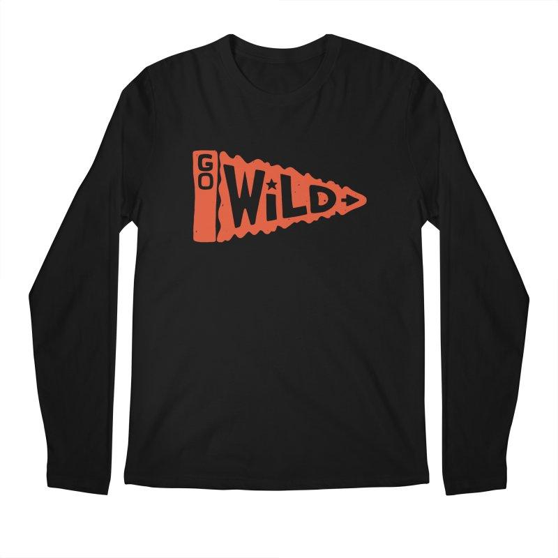 GO W/LD Men's Regular Longsleeve T-Shirt by DYLAN'S SHOP