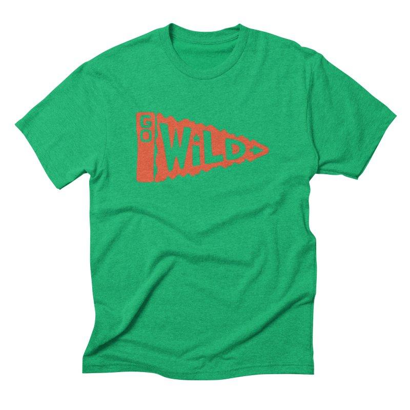 GO W/LD Men's Triblend T-Shirt by DYLAN'S SHOP