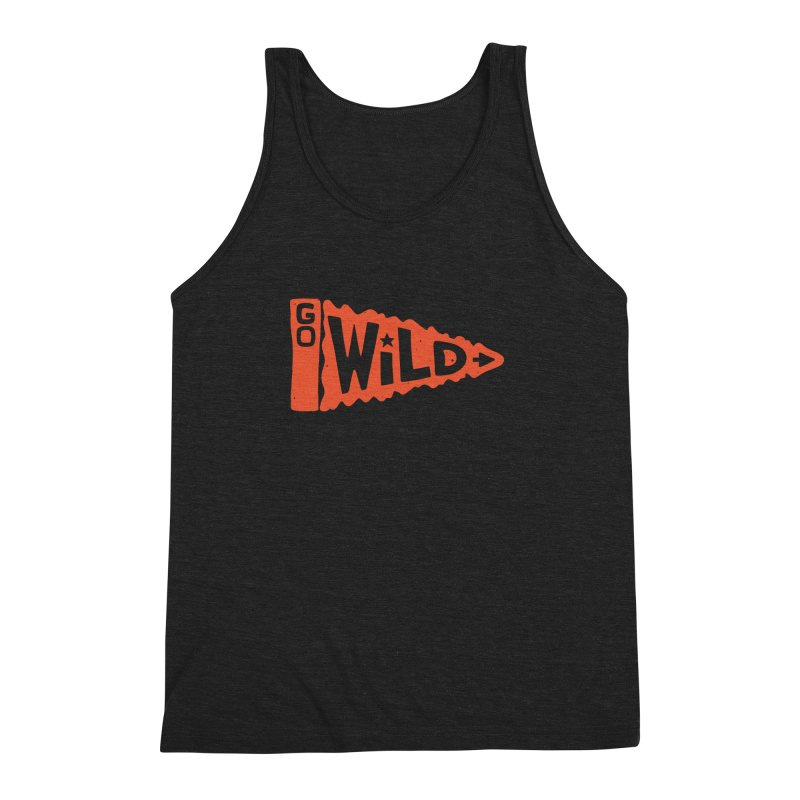 GO W/LD Men's Triblend Tank by DYLAN'S SHOP