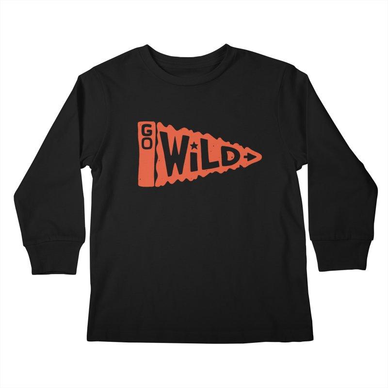GO W/LD Kids Longsleeve T-Shirt by DYLAN'S SHOP