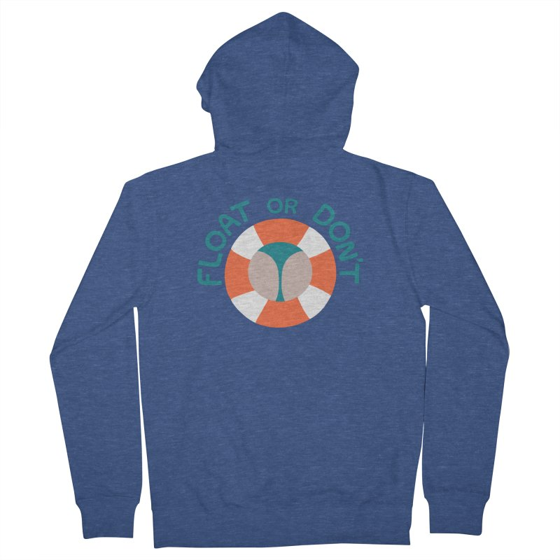 FLO\T Women's French Terry Zip-Up Hoody by DYLAN'S SHOP