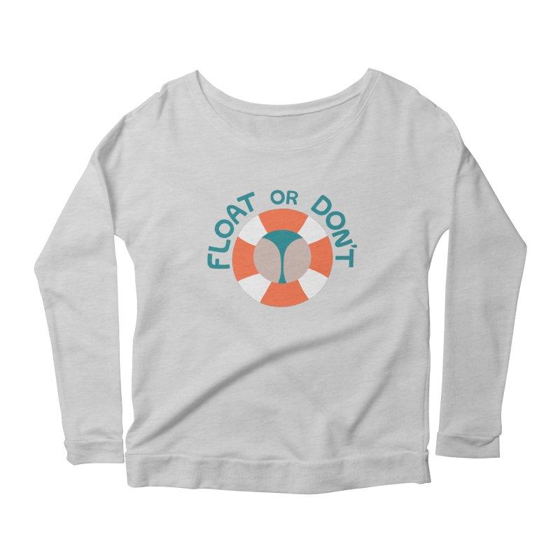 FLO\T Women's Scoop Neck Longsleeve T-Shirt by DYLAN'S SHOP